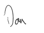 Chancellor Don Elliman Signature