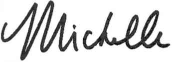 Michelle Marks Signature