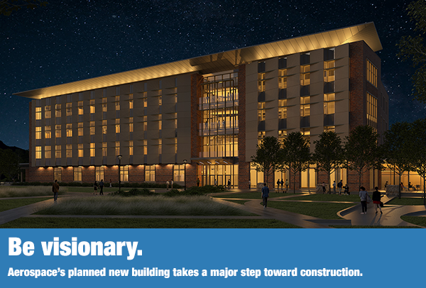 Rendering of the new building